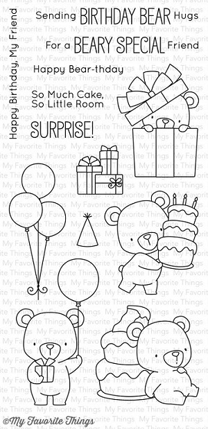 Beary Special Birthday Stamp Set