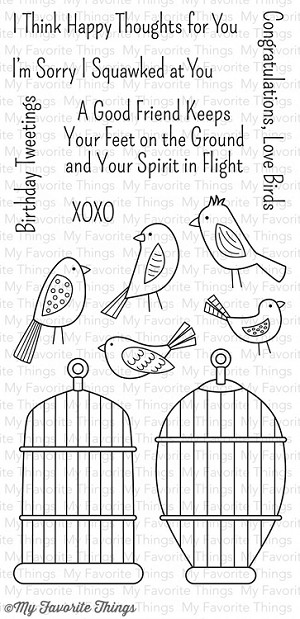 Tweet Friends Stamp Set
