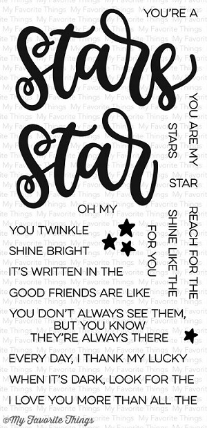 Written in the Stars Stamp Set