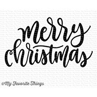 Merry Christmas Greeting Stamp Set