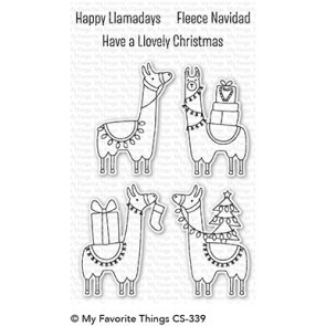 Happy Llamadays Stamp Set