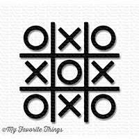 Tic Tac Toe Shapes - Black
