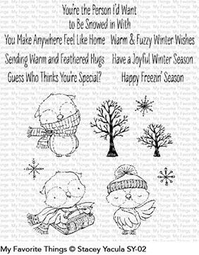 Warm & Feathered Hugs Stamp Set