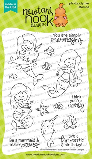 Narly Mermaids Stamp Set