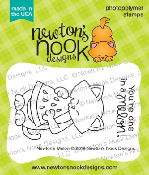 Newton's Melon Stamp Set