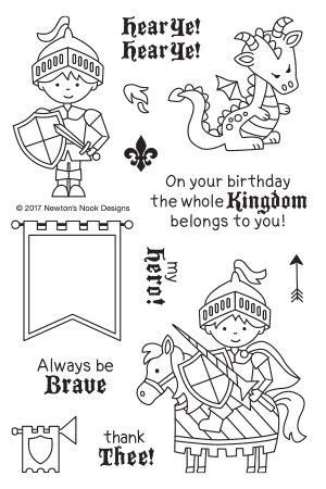 Knight's Quest Stamp Set