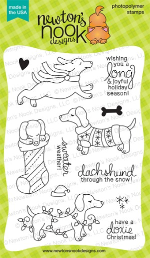 Holiday Hounds Stamp Set
