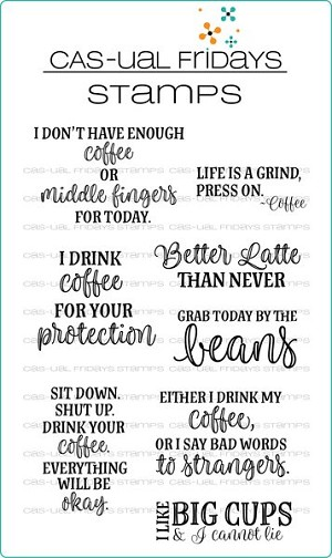 Hot Coffee Stamp Set