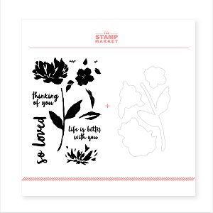 Painted Peony Stamp & Die Bundle
