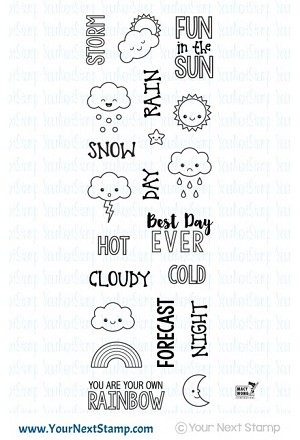 Plan the Weather Stamp Set