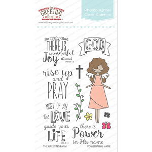 Power in His Name Stamp Set
