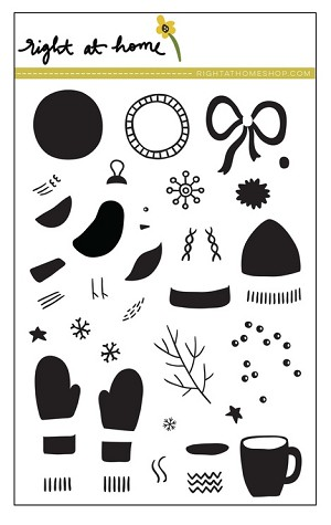 Bits & Pieces: Winter Stamp Set