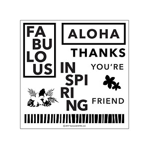 Aloha Friend Stamp Set