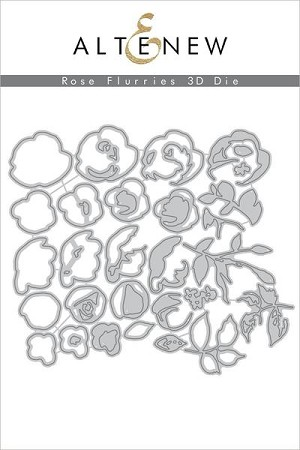 Rose Flurries 3D Dies