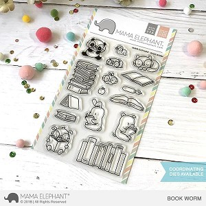 Book Worm Stamp Set