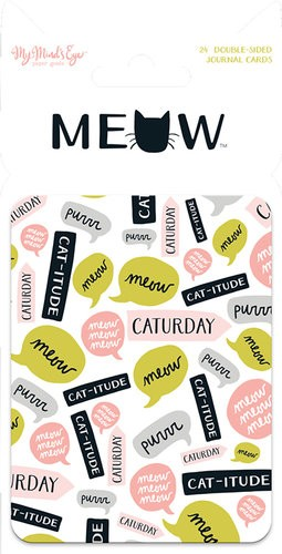 Meow Journal Cards