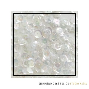 Shimmering Ice Fusion Sequins