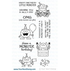 Silly Birthday Monsters Stamp Set
