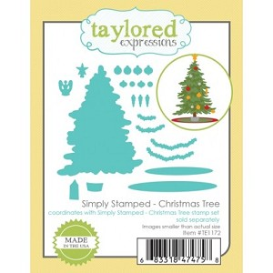 Simply Stamped Christmas Tree Dies