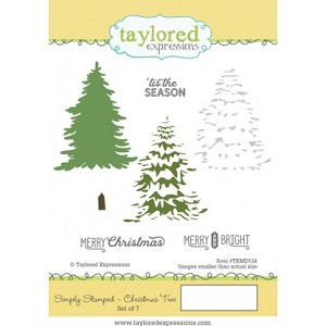 Simply Stamped Christmas Tree Stamp Set