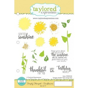 Simply Stamped Sunflowers Stamp Set