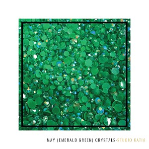Birthstone Crystals May Emerald Green