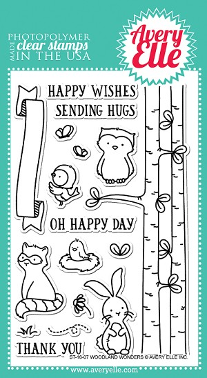 Woodland Wonders Stamp Set