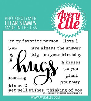 Simply Said Hugs Stamp Set