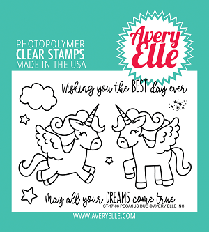 Pegasus Duo Stamp Set