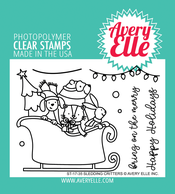 Sledding Critters Stamp Set