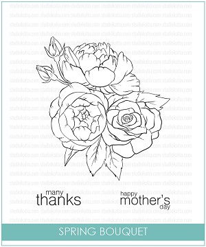 Spring Bouquet Stamp Set