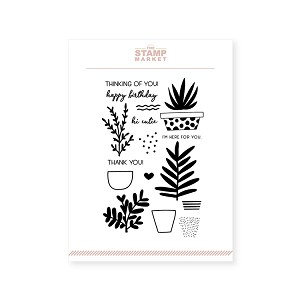 Succulent Stamp Set