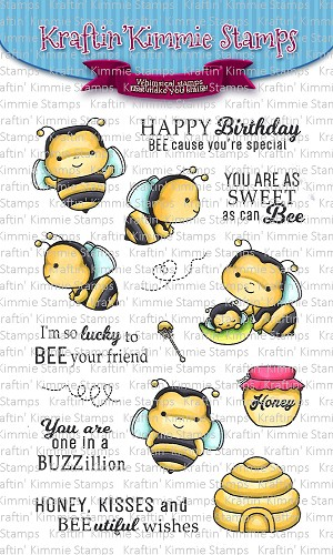 Sweet as Can Bee Stamp Set