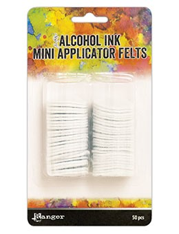 Mini Alcohol Ink Applicator Tool Replacement Felts