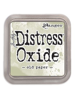Distress Oxides Ink Pad Old Paper