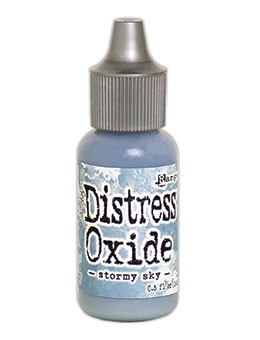 Distress Oxides Re-Inker Stormy Sky