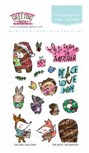 The More the Merrier Stamp Set