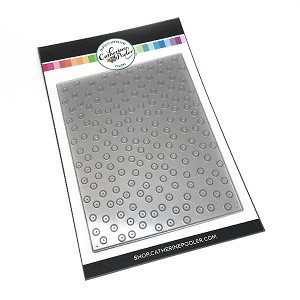 Throwing Confetti Cover Plate Die