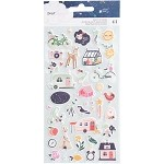 Star Gazer Mini Icon Puffy Stickers