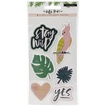 Wild Heart Puffy Stickers