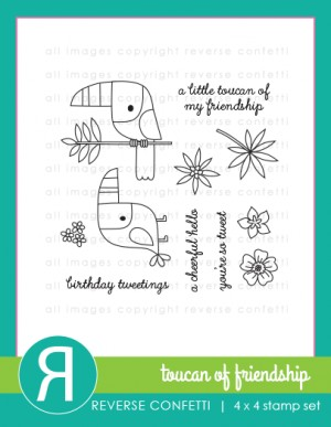 Toucan of Friendship Stamp Set