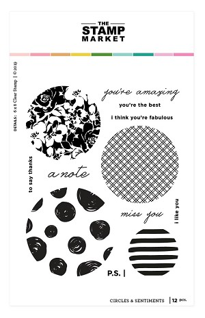 Circles & Sentiments Stamp Set
