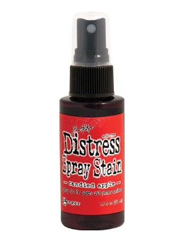 Distress Spray Stain Candied Apple