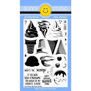 Two Scoops Stamp Set