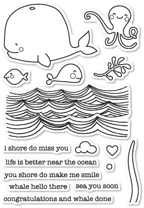 Whale Hello There Stamp Set