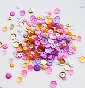 Wild Orchid Sequin Mix