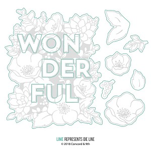 Wonderful Florals Dies