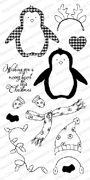 Merry Penguin Stamp Set
