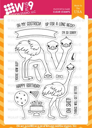Oh My Gostrich! Stamp Set