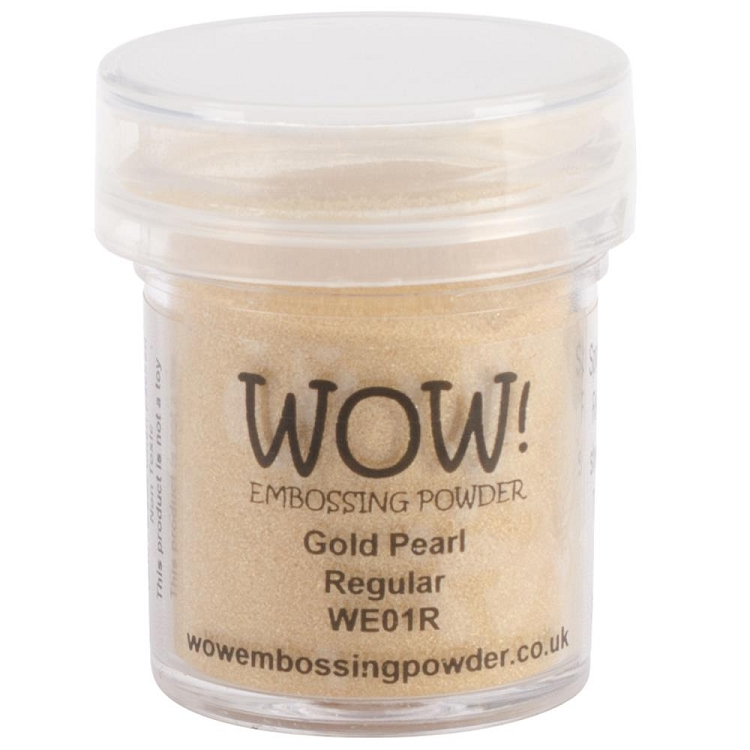 Gold Pearl Embossing Powder